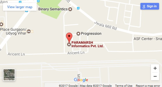 Paramarsh google map